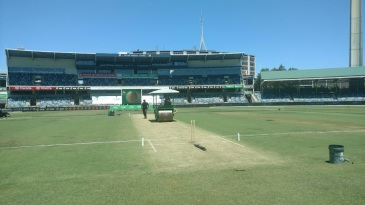 The WACA pitch on the eve of the Australia-South Africa Test