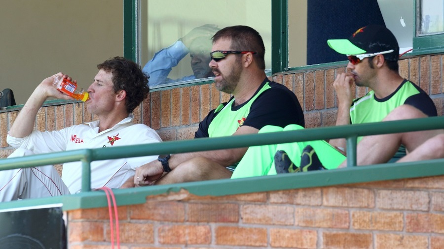 Heath Streak watches Zimbabwe's collapse from the sidelines