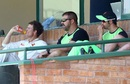 Heath Streak watches Zimbabwe's collapse from the sidelines, Zimbabwe v Sri Lanka, 1st Test, Harare, 5th day, November 2, 2016