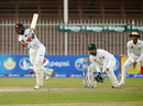Shane Dowrich drives into the legside, Pakistan v West Indies, 3rd Test, Sharjah, 4th day, November 2, 2016