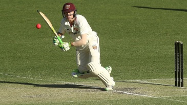Marnus Labuschagne works the ball to leg