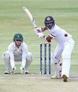 Dilruwan Perera prepares to heave one, Zimbabwe v Sri Lanka, 2nd Test, Harare, 2nd day, November 7, 2016