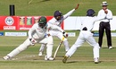 Tino Mawoyo was trapped lbw by Rangana Herath, Zimbabwe v Sri Lanka, 2nd Test, Harare, 2nd day, November 7, 2016