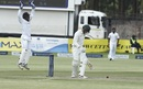 Peter Moor was trapped lbw by Dilruwan Perera for 33, Zimbabwe v Sri Lanka, 2nd Test, Harare, 3rd day, November 8, 2016