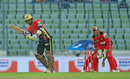Marlon Samuels plays to midwicket, Comilla Victorians v Chittagong Vikings, BPL, Mirpur, November 8, 2016