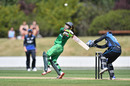 Nain Abidi plays a pull shot , New Zealand Women v Pakistan Women, 1st ODI, Lincoln, Nov 9, 2016