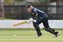Sam Curtis flicks on to the legside, New Zealand Women v Pakistan Women, 1st ODI, Lincoln, Nov 9, 2016