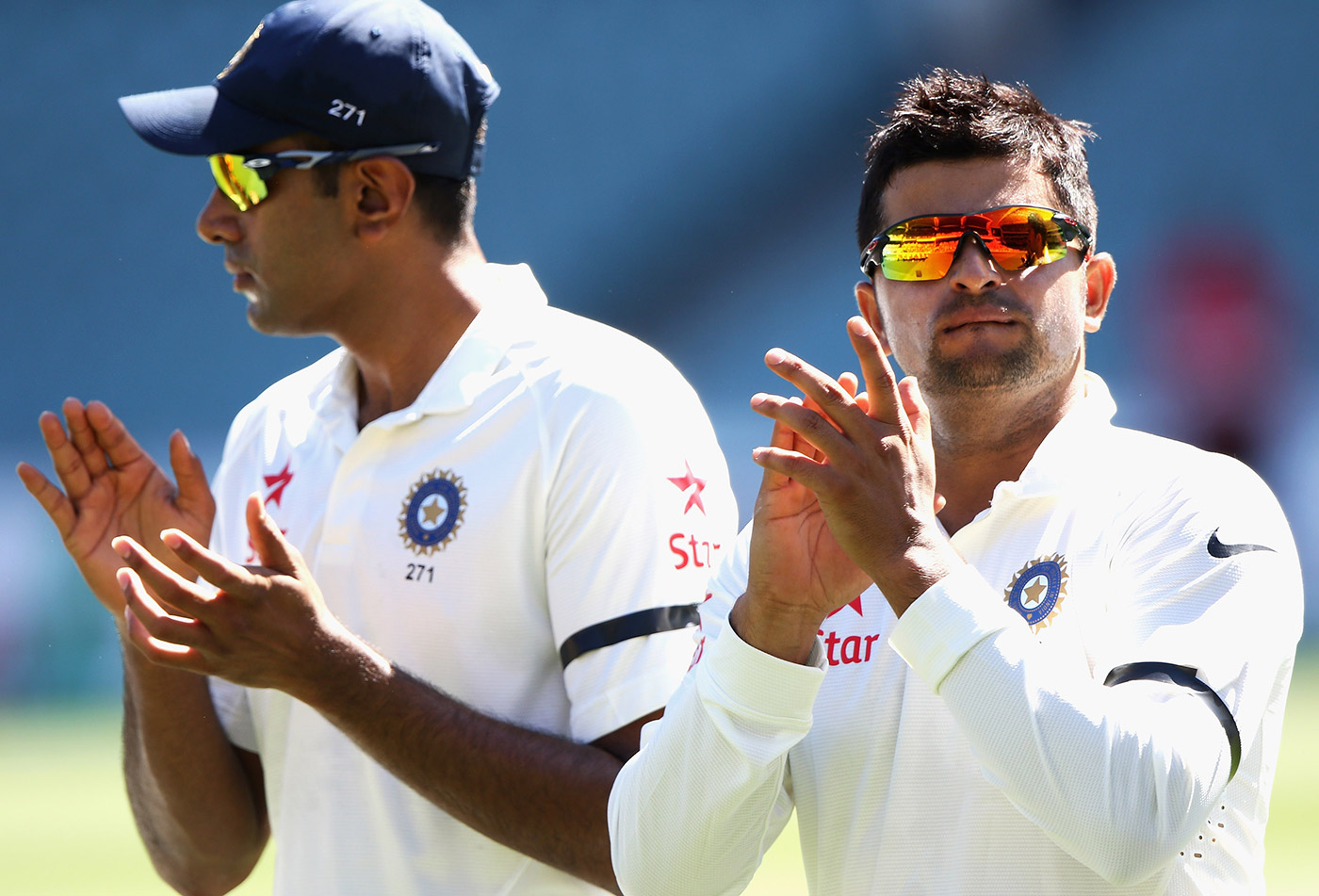 It turns here: with Suresh Raina in Adelaide 2014, where Ashwin sat out the Test, and where B Arun diagnosed the problem with his technique
