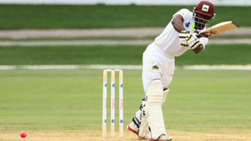 Devon Smith plays through midwicket