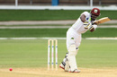 Devon Smith plays through midwicket, Trinidad and Tobago v Windward Islands, Regional Four-Day Competition, Port of Spain, 1st day, November 11, 2016