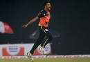 Shafiul Islam exults after picking up one of his four wickets, Chittagong Vikings v Khulna Titans, BPL 2016-17, Mirpur, November 12, 2016