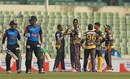 Darren Sammy celebrates with his Rajshahi Kings team-mates after dismissing Shahriar Nafees,  Barisal Bulls v Rajshahi Kings, BPL 2016-17, Dhaka, November 13, 2016