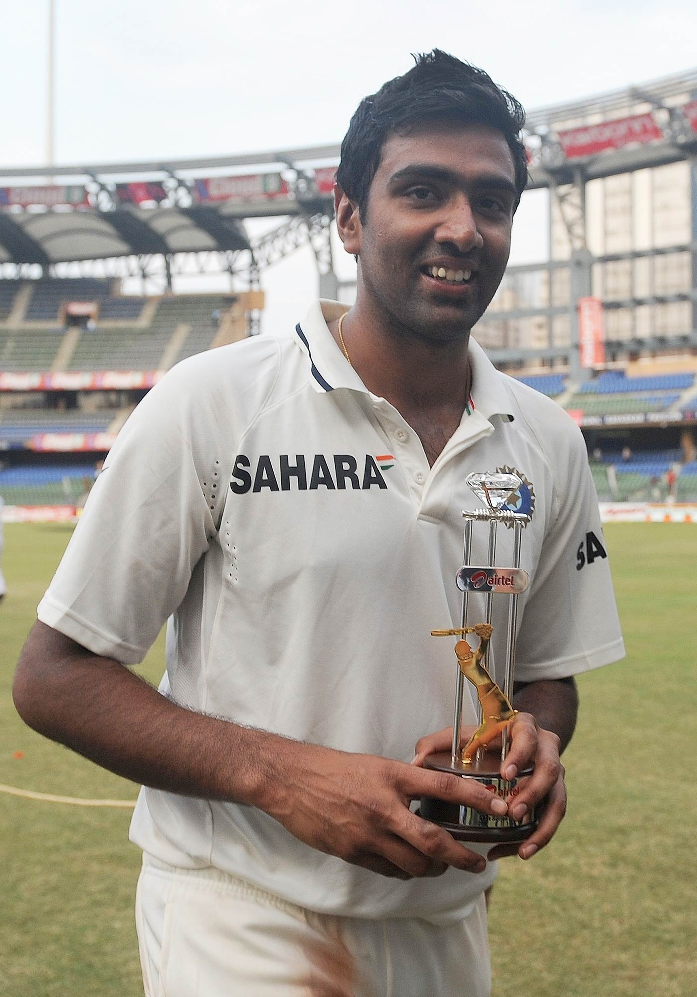 His first Man-of-the-Series award, in 2011, to which he has since added another six