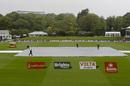 The 2016-17 international season had a wet start at Hagley Oval, New Zealand v Pakistan, 1st Test, Christchurch, 1st day, November 17, 2016
