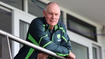Greg Chappell watches over Australia U-19s