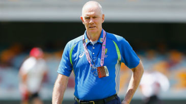 Interim Australia selector Greg Chappell at the Gabba