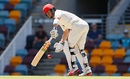Callum Ferguson pushes the ball to leg, Queensland v South Australia, Sheffield Shield 2016-17, Brisbane, 2nd day, November 18, 2016