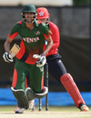 Irfan Karim anchored Kenya's chase with a knock of 67 at the top of the order, WCL Championship, Kenya, November 18, 2016