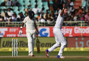 Stuart Broad appeals for the wicket of Kl Rahul, India v England, 2nd Test, Visakhapatnam, 3rd day, November 19, 2016