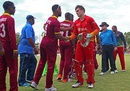 PJ Moor effected a run-out off the last ball, Zimbabwe v West Indies, tri-nation series, Bulawayo, November 19, 2016
