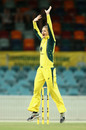 Jess Jonassen appeals for lbw, Australia v South Africa,  2nd women's ODI, Canberra, November 20, 2016