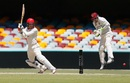 Alex Carey cuts during his half-century, Queensland v South Australia, Sheffield Shield 2016-17, Brisbane, 4th day, November 20, 2016