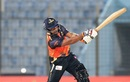 Opener Hasanuzzaman hit 19 off 19 balls, Khulna Titans v Barisal Bulls, BPL 2016-17, Chittagong, November 20, 2016