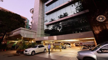 A view of the BCCI headquarters at Wankhede Stadium