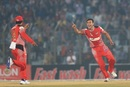 Taskin Ahmed rejoices after taking a wicket, Barisal Bulls v Chittagong Vikings, BPL 2016-17, Chittagong, November 22, 2016