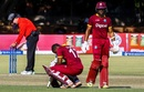 Evin Lewis battled cramps on his way to a maiden ODI ton, Sri Lanka v West Indies, tri-series, Bulawayo, November 23, 2016