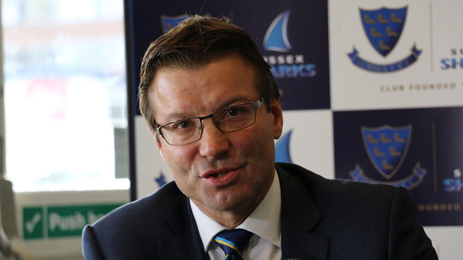 Rob Andrew, chief executive of Sussex