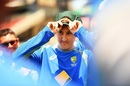 Debutant Nic Maddinson adjusts his new baggy green, Australia v South Africa, 3rd Test, Adelaide, 1st day, November 24, 2016