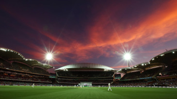 Lights take over at the Adelaide Oval