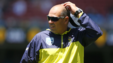 South Africa's coach Russell Domingo