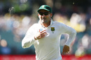 Dean Elgar runs after the ball, Australia v South Africa, 3rd Test, Adelaide, 2nd day, November 25, 2016