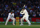Peter Handscomb shapes to cut, Australia v South Africa, 3rd Test, Adelaide, 2nd day, November 25, 2016