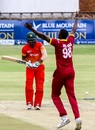 Jason Holder took out Chamu Chibhabha early, Zimbabwe v West Indies, tri-series, Bulawayo, November 25, 2016