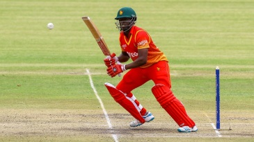 Donald Tiripano added 38 for the eighth wicket with Sikandar Raza