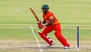 Donald Tiripano added 38 for the eighth wicket with Sikandar Raza, Zimbabwe v West Indies, tri-series, Bulawayo, November 25, 2016