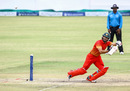 Sikandar Raza carves one behind square, Zimbabwe v West Indies, 6th tri-series ODI, Bulawayo, November 25, 2016