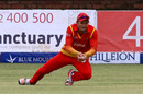 Craig Ervine takes a catch at long-off, Zimbabwe v West Indies, 6th tri-series ODI, Bulawayo, November 25, 2016