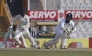Moeen Ali tucks to the leg side, India v England, 3rd Test, Mohali, 1st day, November 26, 2016