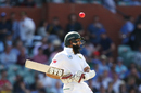 Hashim Amla lets the ball sail over him, Australia v South Africa, 3rd Test, Adelaide, 3rd day, November 26, 2016