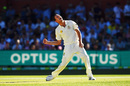 Josh Hazlewood roars after getting rid of Hashim Amla, Australia v South Africa, 3rd Test, Adelaide, 3rd day, November 26, 2016