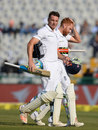 Jos Buttler and Jonny Bairstow steadied England with a partnership until tea, India v England, 3rd Test, Mohali, 1st day, November 26, 2016