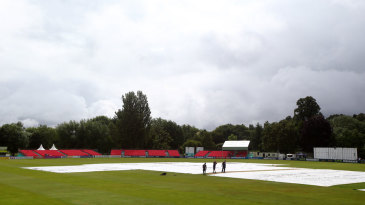 A saturated outfield prevented any play at Castle Park