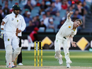 David Warner bowled an over of medium pace, Australia v South Africa, 3rd Test, Adelaide, 3rd day, November 26, 2016