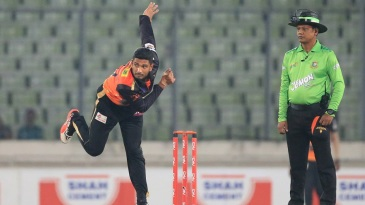Mahmudullah returned figures of seven runs in two overs
