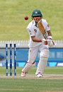 Babar Azam made his second Test fifty, New Zealand v Pakistan, 2nd Test, Hamilton, 3rd day, November 27, 2016