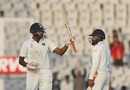 R Ashwin finished day two not out on 57, India v England, 3rd Test, Mohali, 2nd day, November 27, 2016